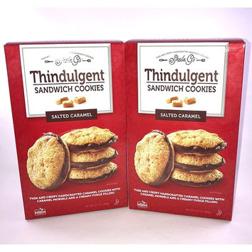 Sheila G's Thindulgent Salted Caramel Sandwich Cookies (2-pack)