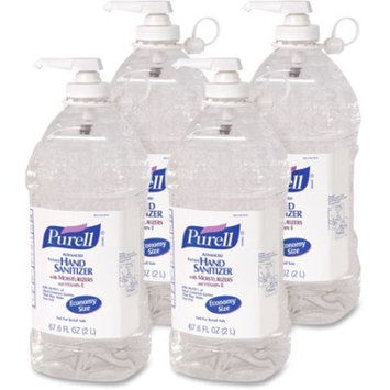 24 Pack Gojo 9682 Purell Instant Hand Sanitizer 2oz Bottle