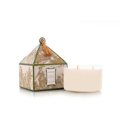 Seda France™ Elegant Gardenia Classic Toile 3-Wick Candle