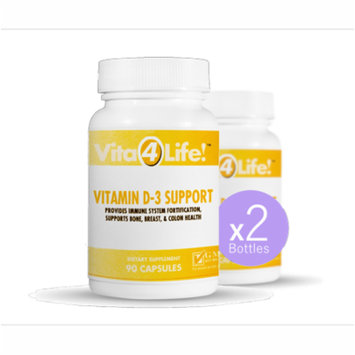 Extra Strength Vitamin D3 (Cholecalciferol) Double Bottle
