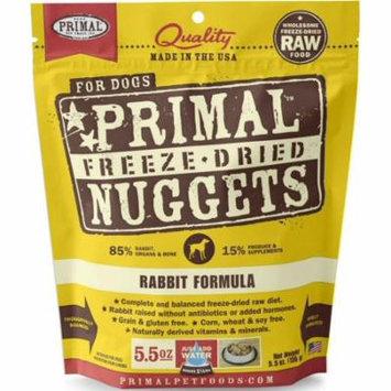Rabbit Formula Grain-Free Freeze-Dried Dog Food, 5.5 oz