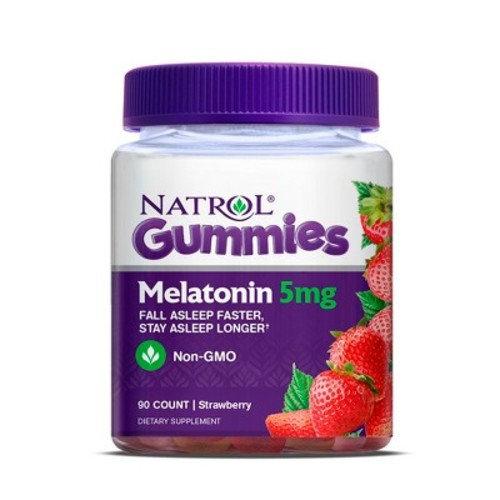 Natrol Melatonin 5mg Dietary Supplement Adult Gummies 90ct
