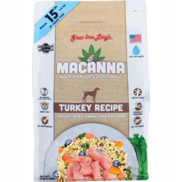 Grandma Lucy's Macanna Grain-Free Turkey Freeze-Dried Dog Food, 3 Lb