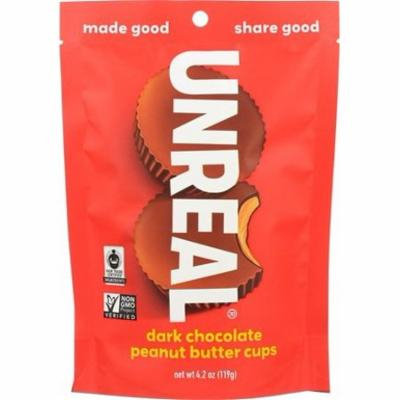 Dark Chocolate Peanut Butter Cups - 4 oz. (pack of 4)