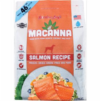 Grandma Lucy's Macanna Grain-Free Salmon Freeze-Dried Dog Food, 8 Lb