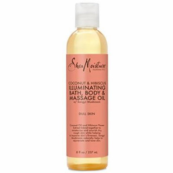SheaMoisture Coconut & Hibiscus Bath, Body & Massage Oil | 8 oz.