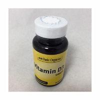 Basic Organics Vitamin D3 1000 IU Softgels, 30ct 054458323341S219