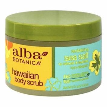 Alba Hawaiian Body Scrub Sea Salt - 14.5 oz. by Alba Botanica (pack of 2)