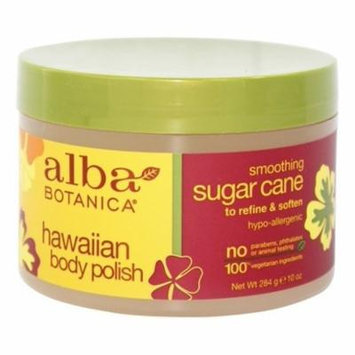 Alba Hawaiian Body Polish Sugar Cane - 10 oz. by Alba Botanica (pack of 4)