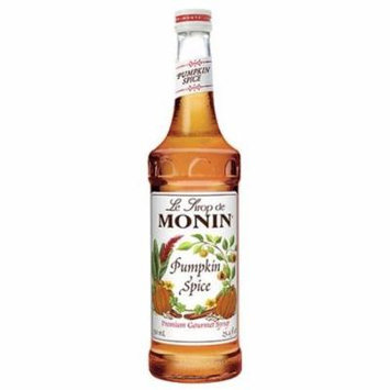 Monin - Monin Pumpkin Spice Flavored Syrup 25.4 fl oz 231007 4 PACK SD