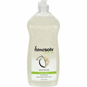 CitraSolv CitraDish Natural Dish Soap Lemon Verbena - 25 fl oz - Case of 12