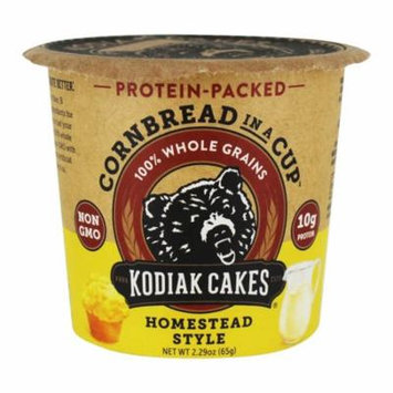 Kodiak Cakes - Protein-Packed Cornbread in a Cup (Pack of 16)