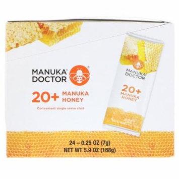 Manuka Doctor 20 Manuka Honey 24 Sachets 0 25 oz 7 g Each