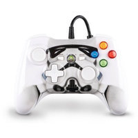 PowerA 1346112-01 Wired Star Wars Stormtrooper Controller for Xbox 360 - White, Black