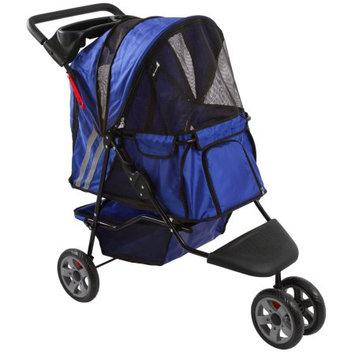 Discount Ramps Blue Zephyr 3-Wheel Pet Jogging Stroller