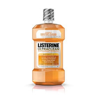 Listerine Ultra Clean Antiseptic Mouthwash Fresh Citrus 1.5 L(pack of 2)