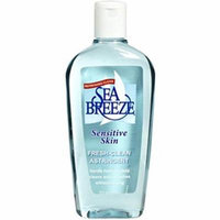 Sea Breeze Actives Sensitive Skin Astringent (Pack of 12)