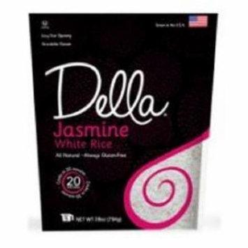 Della Jasmine White Rice - Case of 6 - 28 oz.