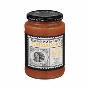 Cucina and Amore For Maggio Italian Pasta Sauce - Tomato, Ricotta and Parmigiano Reggiano - Case of