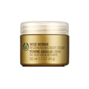 The Body Shop Wise Woman Regenerating Night Cream, 1.7-Fluid Ounce