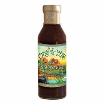 Organic Ville Tangy Organic Sauce - BBQ - Case of 6 - 13.5 Fl oz.