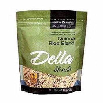 Della Quick Cook Quinoa Rice Blend - Case of 8 - 16 oz.