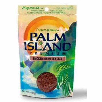Palm Island Sea Salt - Smoked Kiawe - Case of 6 - 3 oz.