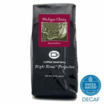 Coffee Beanery Michigan Cherry Flavored Coffee SWP Decaf 12 oz. (Whole Bean)