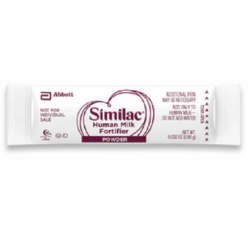 Similac with iron, human milk fortifier part no. 54598 (1/ea)