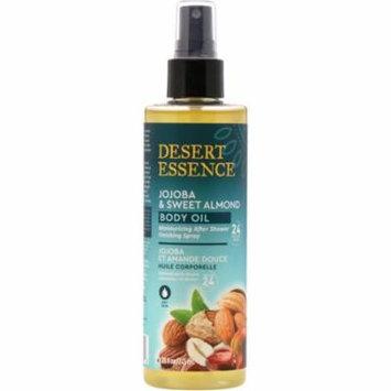 Desert Essence Jojoba Sweet Almond Body Oil Spray 8 28 fl oz 245 ml