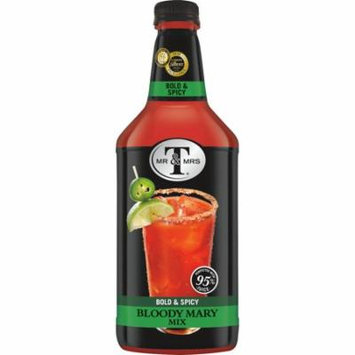 (6 Bottles) Mr & Mrs T Bold & Spicy Bloody Mary Mix, 1.75 L