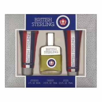 British Sterling Signature Collection by Dana - Men - Gift Set -- 2.5 oz Cologne Spray + 2.5 oz Body Wash