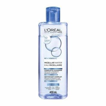 L'Oréal Paris Micellar Cleansing Water Complete Cleanser, 13.5 oz each