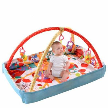 GHP Mesh Polyester & Resin Fabric Play Mat Haning Toys & Balls Baby Activity Center