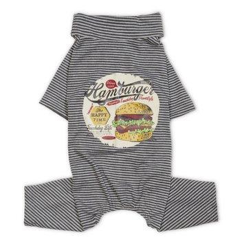 Touchdog Onesie Dog T-Shirt Pajamas Grey