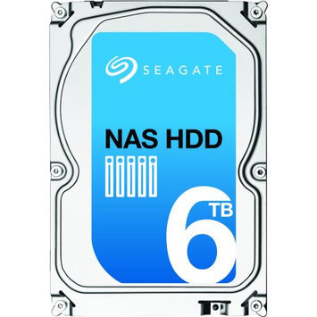 Seagate - Psg Single 6TB NAS HDD SATA 7200 RPM 128MB