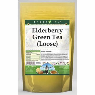 Elderberry Green Tea (Loose) (8 oz, ZIN: 532477)