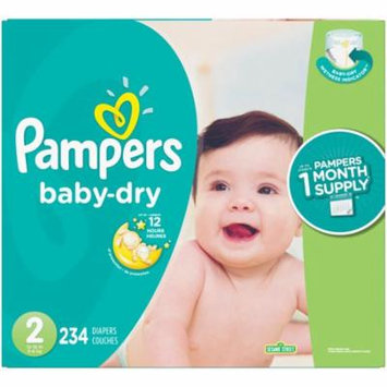 Pampers® Baby Dry™ Diapers Size 2