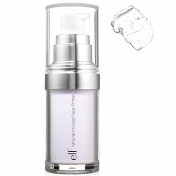 E.L.F. Cosmetics, Mineral Infused Face Primer, Clear, 0.49 oz(pack of 3)