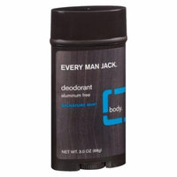 Every Man Jack Deodorant Signature Mint3.0 oz.(pack of 12)