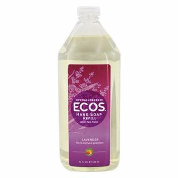 ECOS Hand Soap Refill Organic Lavender - 32 fl. oz. by Earth Friendly (pack of 12)