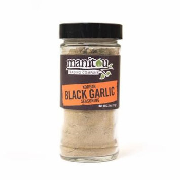 Korean Black Garlic Seasoning, 2.5 Oz Glass Jar