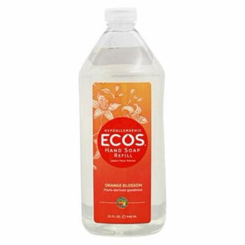 ECOS Hypoallergenic Hand Soap Refill Orange Blossom - 32 fl. oz. by Earth Friendly (pack of 2)