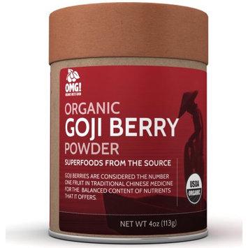 OMG! Organic Meets Good, Goji Berry Powder