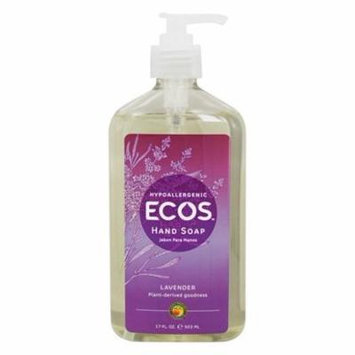 ECOS Hand Soap Organic Lavender - 17 fl. oz. by Earth Friendly (pack of 4)