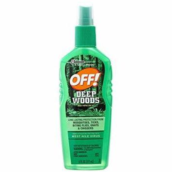 Off Deep Woods Spritz, 6 oz (Pack of 8)