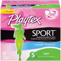 Playex Sport Tampons, Super (Pack of 10)