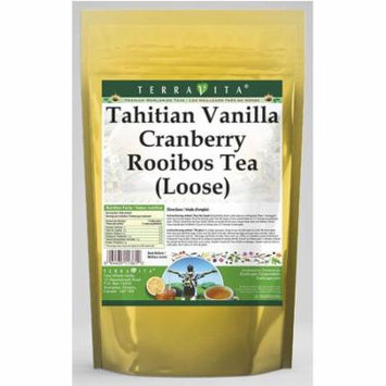 Tahitian Vanilla Cranberry Rooibos Tea (Loose) (4 oz, ZIN: 536322) - 3-Pack