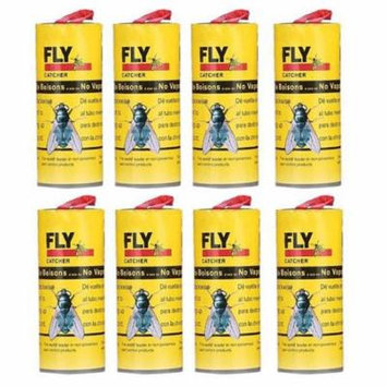 Outtop 8Pcs Insect Glue Tape Strips Sticky Fly Paper Eliminate Flies Bug Catcher Trap