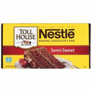 NESTLE TOLL HOUSE Semi-Sweet Chocolate Baking Bar 4 oz. Bar